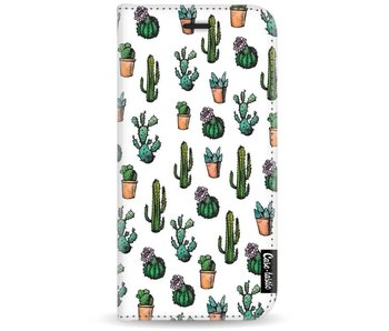 Cactus Dream - Wallet Case White Motorola Moto G5