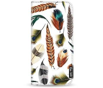 Feathers Multi - Wallet Case White Motorola Moto G5