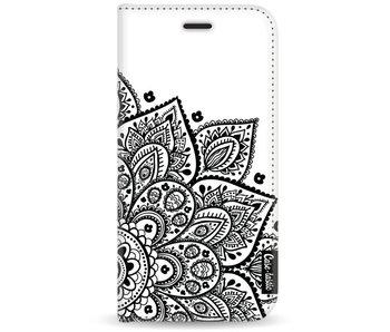 Floral Mandala - Wallet Case White Motorola Moto G5