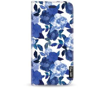 Royal Flowers - Wallet Case White Motorola Moto G5