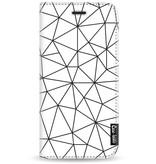 Casetastic Wallet Case White Motorola Moto G5 - So Many Lines! Black