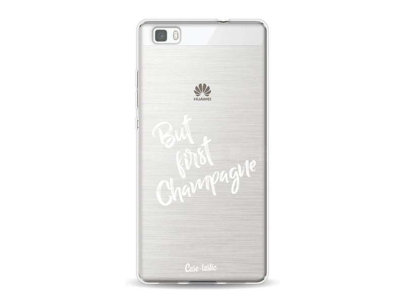 Casetastic Softcover Huawei P8 Lite - But First Champagne