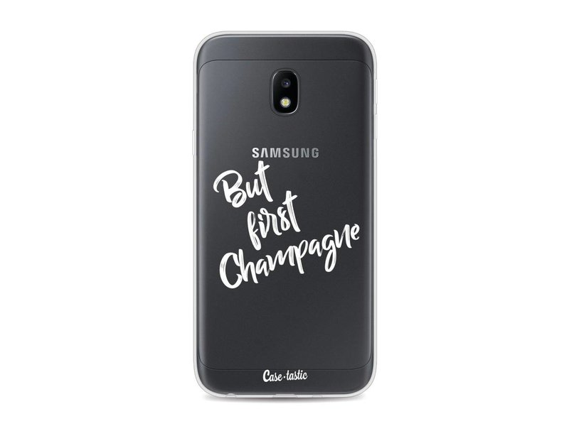 Casetastic Softcover Samsung Galaxy J3 (2017) - But First Champagne