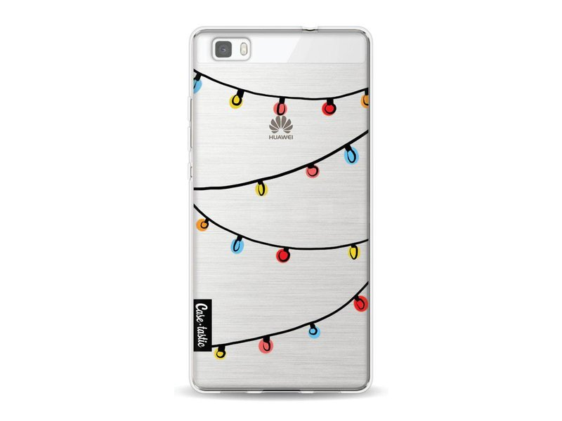Casetastic Softcover Huawei P8 Lite - Christmas Lights