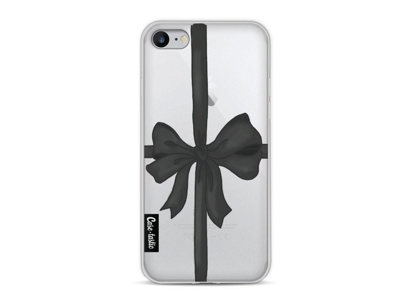 Casetastic Softcover Apple iPhone 8 - Black Ribbon