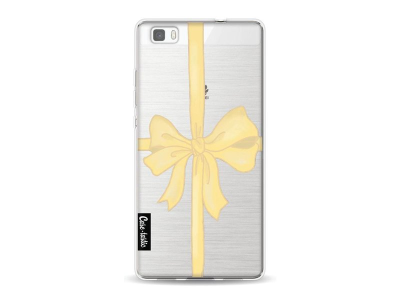 Casetastic Softcover Huawei P8 Lite - Champagne Ribbon
