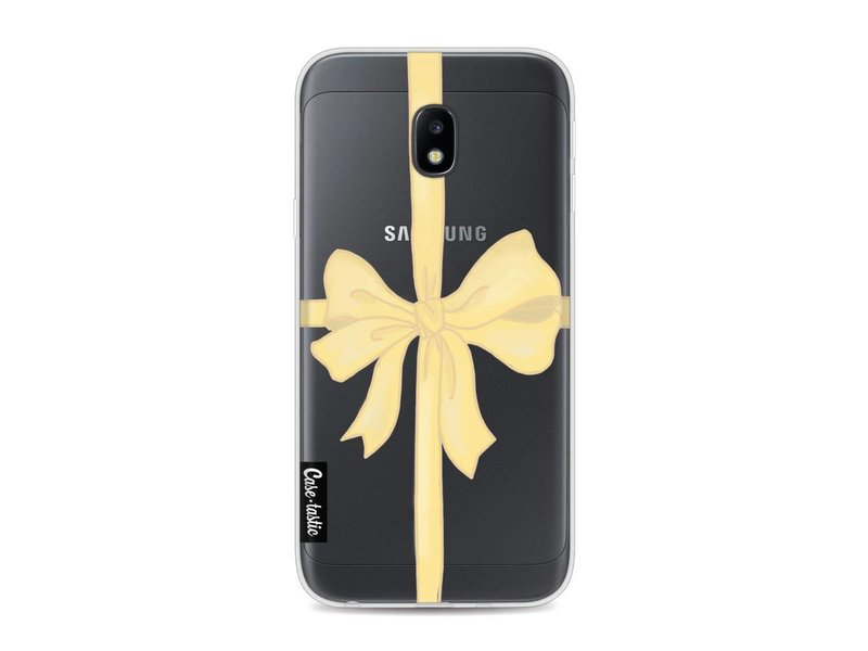 Casetastic Softcover Samsung Galaxy J3 (2017) - Champagne Ribbon