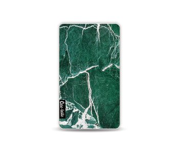 Dark Green Marble - Powerbank 4.000 mAh