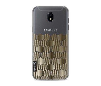Golden Hexagons - Samsung Galaxy J5 (2017)