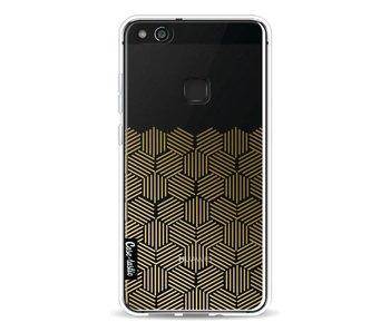 Golden Hexagons - Huawei P10 Lite