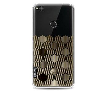 Golden Hexagons - Huawei P8 Lite (2017)