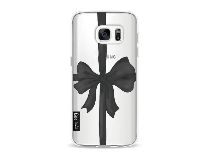 Casetastic Softcover Samsung Galaxy S7 - Black Ribbon