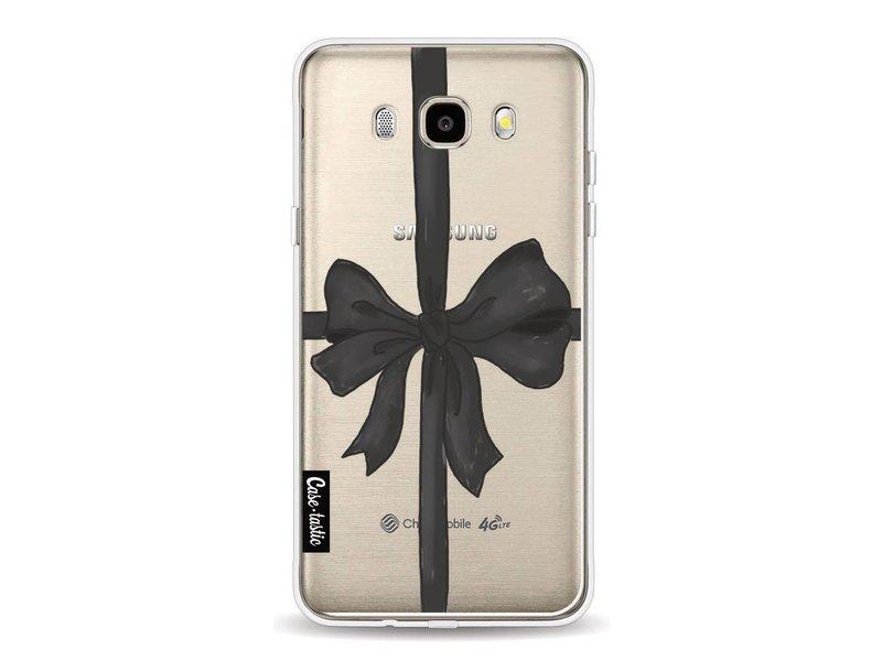 Casetastic Softcover Samsung Galaxy J5 (2016) - Black Ribbon