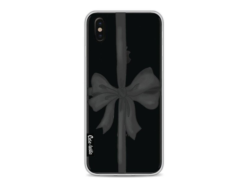 Casetastic Softcover Apple iPhone X - Black Ribbon