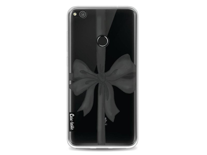 Casetastic Softcover Huawei P8 Lite (2017) - Black Ribbon