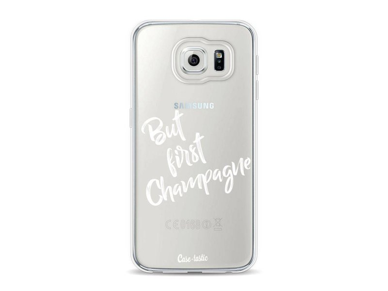 Casetastic Softcover Samsung Galaxy S6 - But First Champagne
