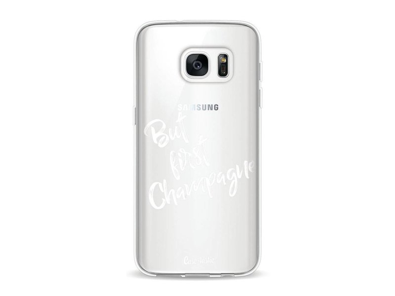 Casetastic Softcover Samsung Galaxy S7 - But First Champagne