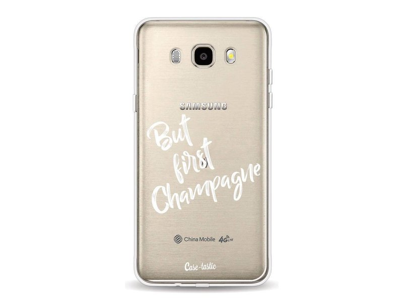 Casetastic Softcover Samsung Galaxy J5 (2016) - But First Champagne