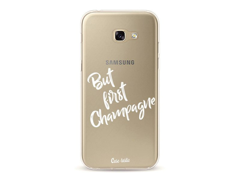 Casetastic Softcover Samsung Galaxy A5 (2017)  - But First Champagne