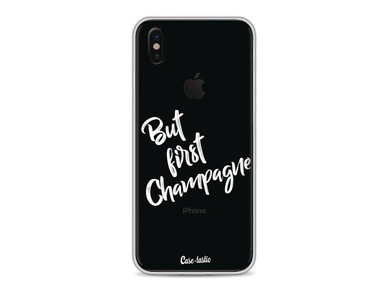 Casetastic Softcover Apple iPhone X - But First Champagne