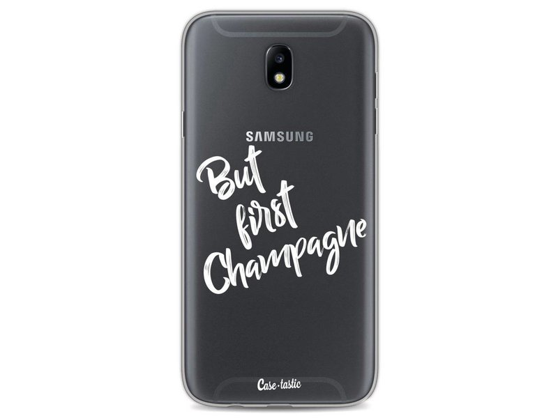 Casetastic Softcover Samsung Galaxy J7 (2017) - But First Champagne