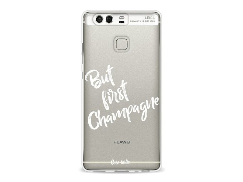 Casetastic Softcover Huawei P9 - But First Champagne