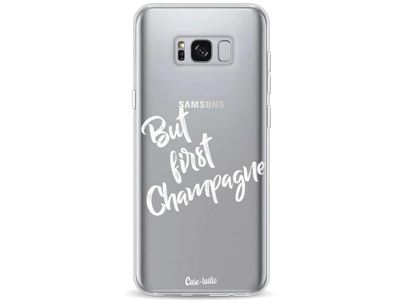 Casetastic Softcover Samsung Galaxy S8 Plus - But First Champagne