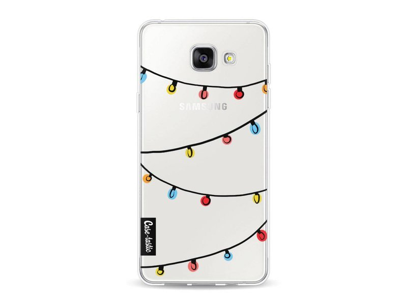 Casetastic Softcover Samsung Galaxy A5 (2016) - Christmas Lights
