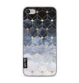 Casetastic Softcover Apple iPhone 7 - Blue Hexagon Diamonds