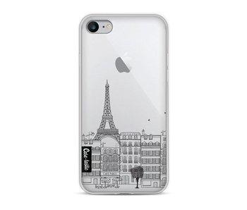 Paris City Houses - Apple iPhone 8