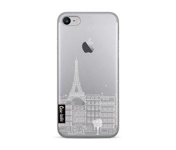 Paris City houses White - Apple iPhone 7