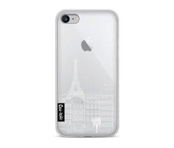 Paris City houses White - Apple iPhone 8