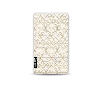 Golden Diamonds - Powerbank 4.000 mAh White