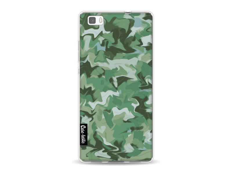 Casetastic Softcover Huawei P8 Lite - Army Camouflage