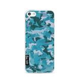 Casetastic Softcover Apple iPhone 5 / 5s / SE - Aqua Camouflage