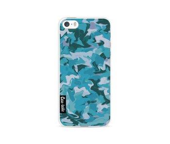 Aqua Camouflage - Apple iPhone 5 / 5s / SE