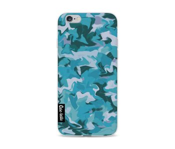 Aqua Camouflage - Apple iPhone 6 / 6s