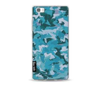 Aqua Camouflage - Huawei P8 Lite