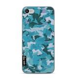 Casetastic Softcover Apple iPhone 7 - Aqua Camouflage