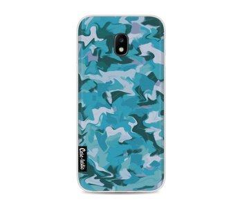 Aqua Camouflage - Samsung Galaxy J3 (2017)