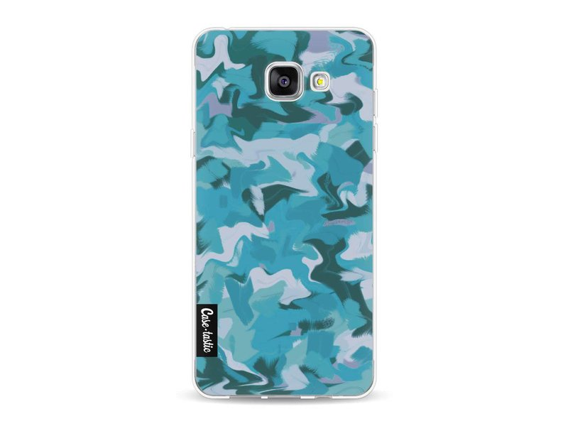 Casetastic Softcover Samsung Galaxy A5 (2016) - Aqua Camouflage