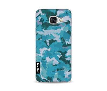 Aqua Camouflage - Samsung Galaxy A3 (2016)