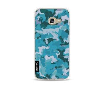 Aqua Camouflage - Samsung Galaxy A3 (2017)