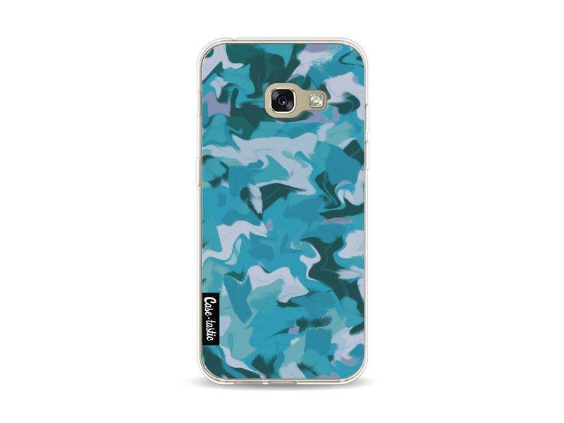 Casetastic Softcover Samsung Galaxy A3 (2017)  - Aqua Camouflage
