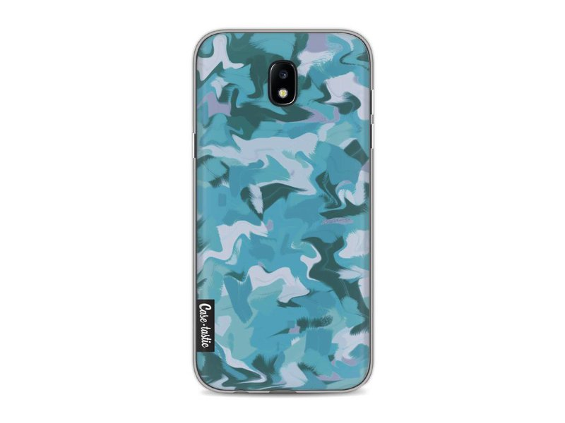 Casetastic Softcover Samsung Galaxy J5 (2017) - Aqua Camouflage