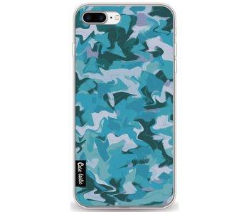 Aqua Camouflage - Apple iPhone 7 Plus