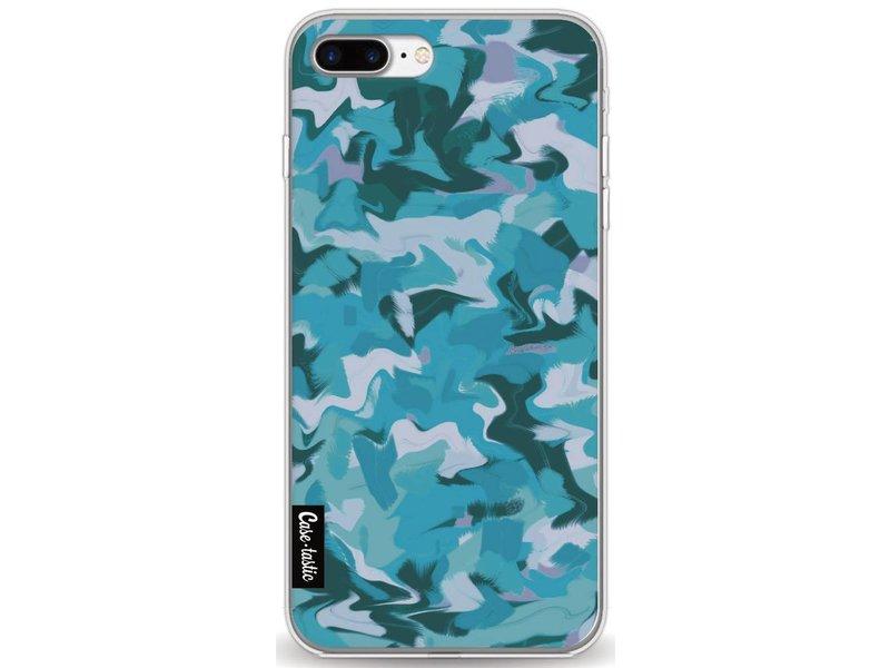 Casetastic Softcover Apple iPhone 7 Plus - Aqua Camouflage