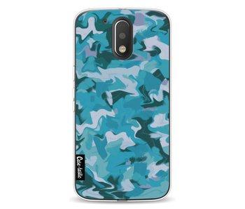 Aqua Camouflage - Motorola Moto G4 / G4 Plus