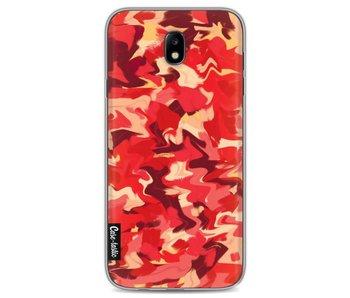 Fire Camouflage - Samsung Galaxy J7 (2017)