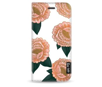Winterly Flowers - Wallet Case White Apple iPhone 6